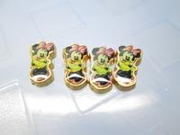 Minnie Golden Back Floating Charm Floating Locket charm Fits Living lockets 20pcs/lot Free shipping