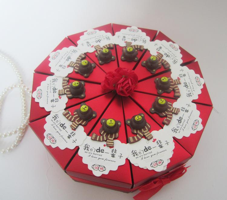 Supplies 100pcs Wedding Favour Gift Box Party Candy Box Free Shipping(China (Mainland))