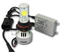CREE chips with both sides lighting auto LED headlight conversion kit with 3200LM/bulb 9004 hi/low beam IP65 quick start