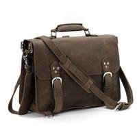 2014 New Retro Vintage Style Cowhide Genuine Leather Travel Bags For Men Travel Duffle Travel Backback Shoulder Messenger Bag