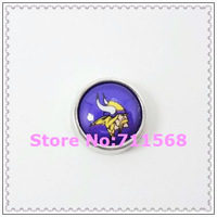 Minnesota Vikings Floating Charms National Football League Charm For Memory Glass Locket Accessories