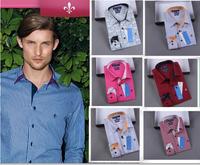 2014 new blusas masculine men's dudalina shirt cotton shirt men's casual long-sleeved casual shirt slim fit Formal camisa shirt
