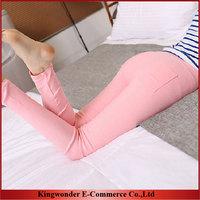 Free Shipping Wholesale 2014 Korean New Fashion Sheath Pencil Leggings Women clothing Legging Pants LEG003