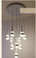 Free shipping lustres e pendentes 10pcs/set 50W LED lustre lighting fixture warm white pure white 85-265V modern night club