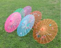 New Arrive Chinese style silk wedding umbrella color vintage umbrella dance umbrella bamboo cytoskeleton