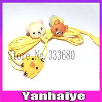 High Quality Easily bear Earphones Headphones 3.5mm for iPhone Samsung Xiaomi Lenovo MP3 MP4
