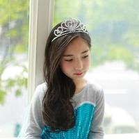 Fro Anna Crystal Fashion Children's Hair Accessories 10pcs/lot Fro Hair Band Crown Tiara Fro Crown Tiara Bridal Crown