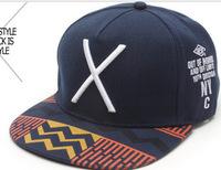 Brand 2014 Large X-dimensional Embroidery Baseball Hat Man Woman Hip-hop Hat Cap Flat-brimmed Hat Leisure Cap