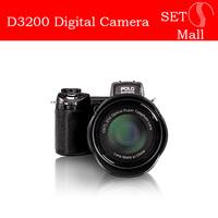 D3200 digital camera 16million pixel camera Professional SLR camera 21X optical zoom HD camera plus LED headlamps Mulitilanguage