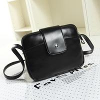 New winter 2014 women messenger bags Women leather Handbags Fashion Vintage bags small black Crossbody Bags Women's Handbags