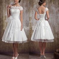 Stock Special Short Wedding Dress
