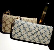 2014 nouvelle marque femmes Plaid portefeuilles en cuir dame porte - monnaie embrayages portefeuilles carteira feminina bracelets femmes sac gros(China (Mainland))