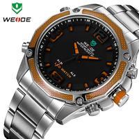 New 2014 WEIDE Brand Fashion Men Quartz Wristwatch military watch men sports watches Men's Army Wristwatch 12-month Guarantee