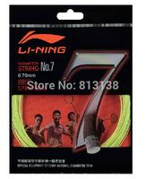 Fast Delivery 4 pcs original Lining badminton string NO.7 racket string