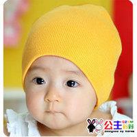Children's hats baby Cotton Flax newborn baby hats wholesale hats