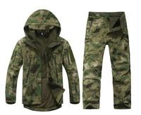 High quality Lurker Shark Skin Men's Soft Shell Jacket TAD Outdoor Military Jacket Camouflage Clothing Waterproof Fleece Jacket