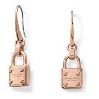New Fashion Brand Design Metal Lock Earrings For Women
