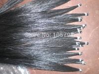 45 hanks High quality Black bow hair 7 grams each hank in 32 inches