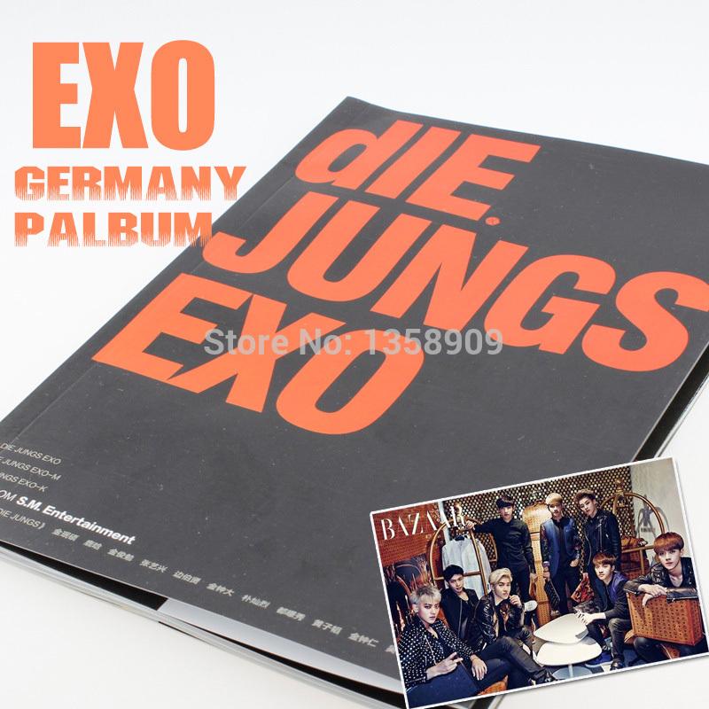 EXO The First Germany Photo Album Newest EXO Surrouding Overbalance Korea Idol Kpop EXO Magazine Free Shipping(China (Mainland))