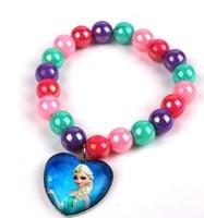 50pcs 2014 New Frozen Bracelets Asa Bracelets Children's Gift Bracelets