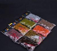150bags Leopard Print Loom Bands Loom Rubber Bands DIY loom kit Band bracelet material rubber 1bag(600pcs) 8 styles can choose
