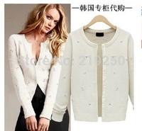 Free shipping! 2014 new listing, autumn women knit cardigan jacket
