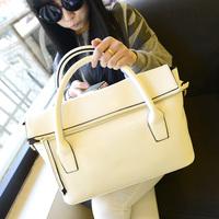 2014 new wave of high-end fashion handbags Korean version of simple wild big bag lady handbag shoulder diagonal