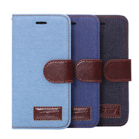 fashion jean case cover with holder card slot For iPhone 6 plus 4.7 or 5.5 mobile cell phone Accessories protector dumper case