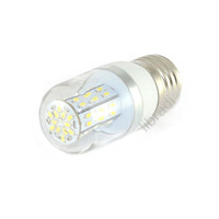1pcs E27 3W 48 SMD 3014 LED White / Warm White 300lumen Corn Light Bulb Lamp 85-265V