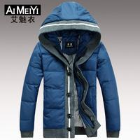 Winter Warm Fashion Men's Jacket Coat Thick Down Jacket 2014 Hot Sale New