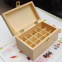 TB010 Retro Exquisite desktop Storage Box wooden box storage case 20*12.5*11 Free shipping