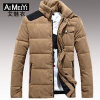 Men's Winter Jacket Collar Coat Warm Fashion Outdoor 2014 Hot Sale New
