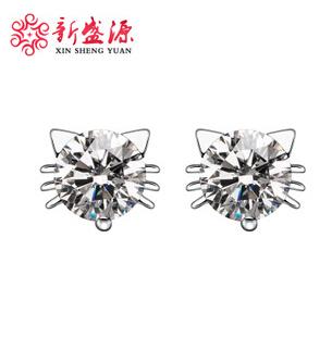 Серьги-гвоздики XinShenYuan S925 3A 100% S925 JOJO&YOYO серьги гвоздики 100% 925 ge039