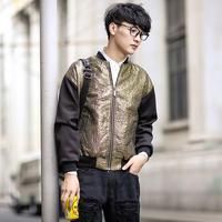 VOGUE Fashion Mens winter jacket coat MAN neoprene sleeve casual waterproof jackets outdoors N10020