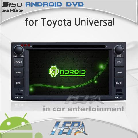 car audio stereo dvd gps receivers for Toyota camry corolla hilux matrix previa vios Zelas Prado Land cruiser fj(China (Mainland))