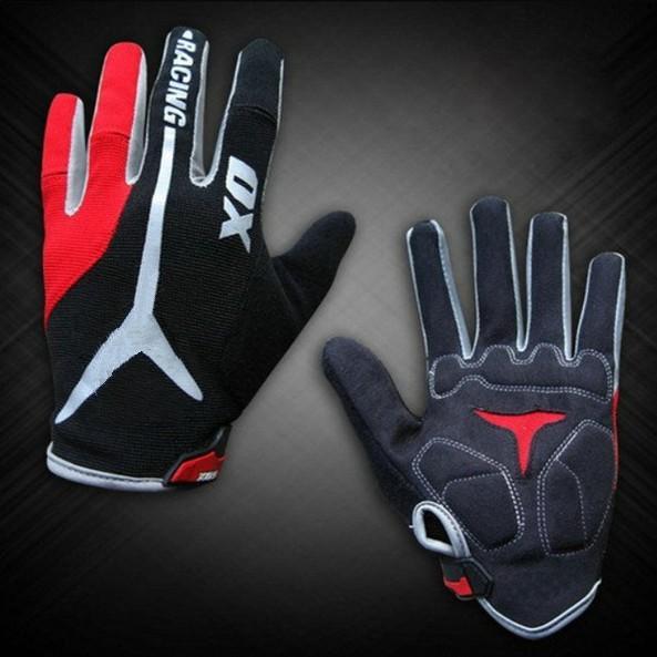 Free shipping 2014 New GEL Bike Bicycle Gloves Men's Full Finger Cycling Biking Racing Gloves Luvas M L XL Size(China (Mainland))
