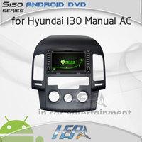 2014 car gps dvd radio bluetooth for Hyundai I30 manual AC with multimidia car gps antenna car