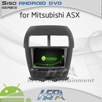 HEPA car gps dvd radio bluetooth for Mitsubishi ASX with touch screen car radio gps navigation