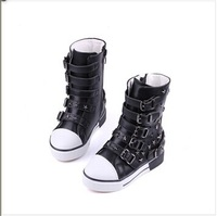 2014 Free shipping hot sale fashion children boy girl Boots,Knee High pu Sneakers girl boots children Martin shoes White/Black
