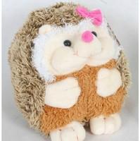 cute plush hedgehog toy lovely cartoon girl hedgehog doll birthday gift about 28cm