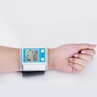 Free shipping 5pcs/lot Wrist sphygmomanometer blood pressure monitor