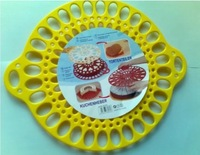 hot !! 15 Equal Cake Separtor Cake Cutter Injection Mold Cake Bakeing Pastry Mould Kitchen Tools 02046