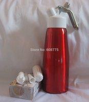 500ML Cream Whipper Cream Foamer Gun Dispenser w/cream chargers