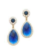 Wholesale Jewelry Luxe Austria Rhinestone Teardrop Earrings boucle d'oreille Women Brand 6389