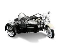 Meritor figure maisto simulation models 1:18 alloy sidecar three-wheeled motorcycle factory product model