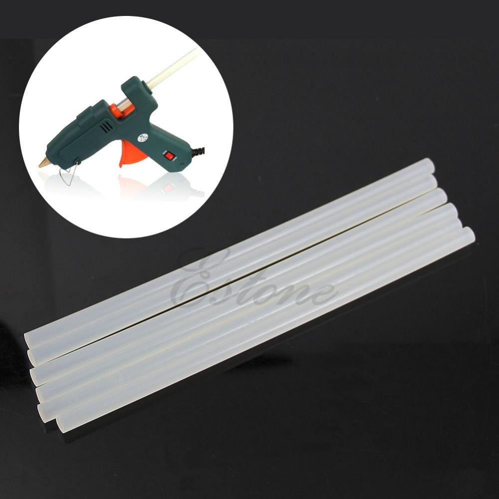 C18 + Free Shipping Art Craft Repair Tool 20W Electric Heating Hot Melt Glue Gun Sticks Trigger +6Pcs 7mm Hot Melt Glue Sticks(China (Mainland))
