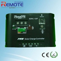 Upgrade Version Battery Regulator 12V/24V 10A Auto Switch PWM Solar Charge Controller Street Light Panel System