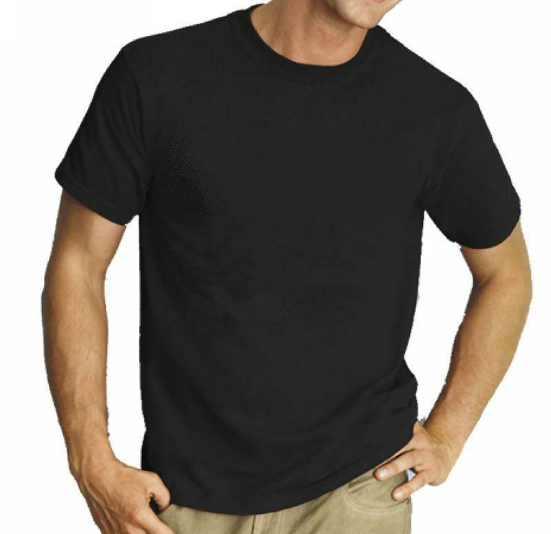 blank cotton T shirt promotion t shirt plain black cotton tee 190gsm unisex tshirt printing logo(China (Mainland))