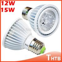 10pcs Super Bright Dimmable PAR20 LED Spotlight 12W E27 85-265V Cold White Warm White LED Light PAR 20 LED Bulb Lamp For Home