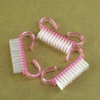 5pcs Nail Art Cleaning Brush File Manicure Pedicure PINK Nail Art Tools Drop Shipping HB-0055-5PCS\br
